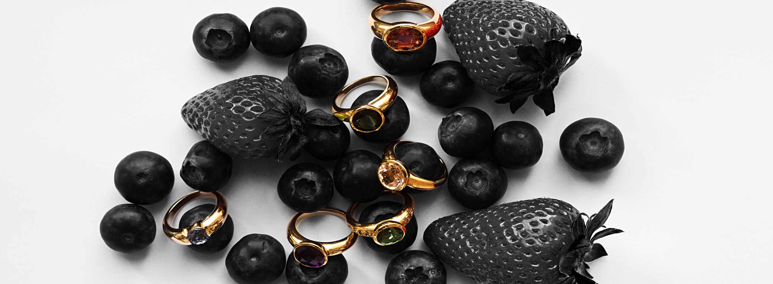 Goldschmiedearbeiten Ringe